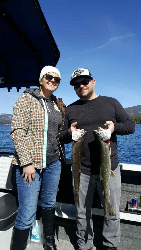 Fishing Lake Tahoe April 1st, 2017